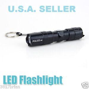 USA-SELLER-3-WATT-1AA-LED-FLASHLIGHT-TORCH-SUPER-BRIGHT-LAMP-LIGHT-ALUMINUM-NEW