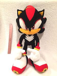 Sonic The Hedgehog Ge Shadow The Hedgehog Stuffed Plush Doll Ebay