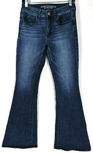 American-Eagle-AEO-Women-039-s-Jeans-Size-6-R-Hi-Rise-Artist-Super-Stretch-Denim