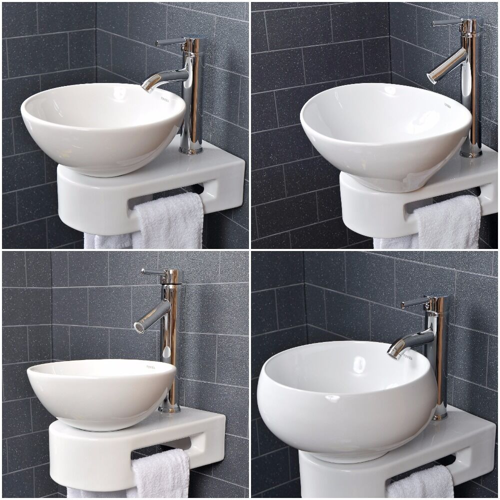 white sinks bathroom vroma basin sink bathroom countertop cloakroom wall bowl 15152