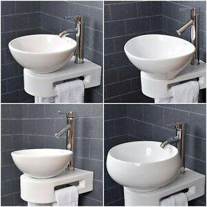 vroma basin sink bathroom countertop cloakroom wall bowl 11462