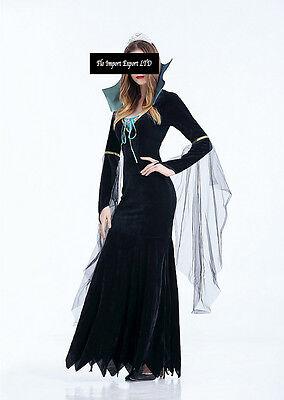 Intenzionale Vestito Strega Halloween Carnevale Donna Witch Dress Up Woman Costume Hww002 Curare La Tosse E Facilitare L'Espettorazione E Alleviare La Raucedine