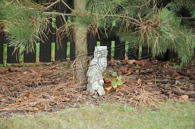 Treu Garten Dekoration Eule Terrasse Stein Figuren Figur Deko Statue Skulptur 539 Neu Produkte HeißEr Verkauf