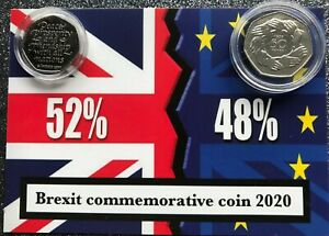 1973-and-2020-Join-EU-Brexit-50P-coins-mounted-on-BREXIT-RESULT-background