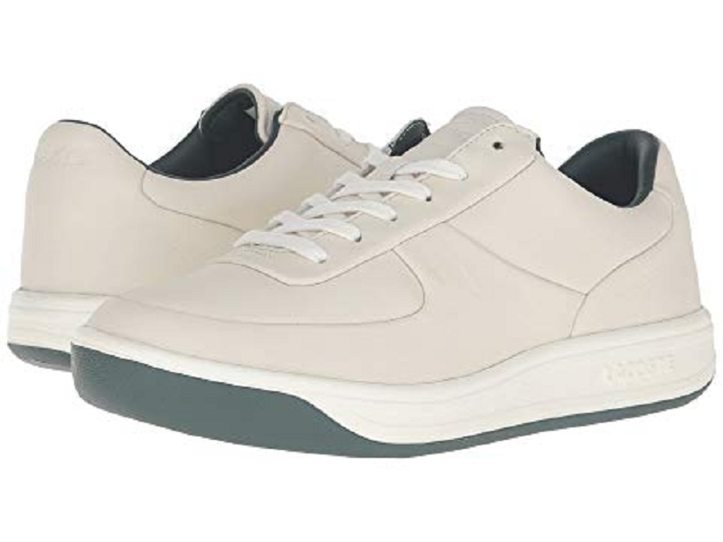 Lacoste Men's LS.12 316 2 US 13 M Off White Leather Sneakers shoes  155.00