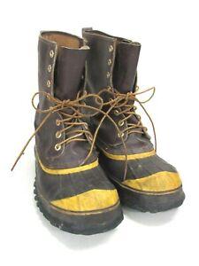Contemplatif Lacrosse Outdoorsman Caoutchouc Chaussures De Chasse Avec Steel Shank, Taille: 11-afficher Le Titre D'origine