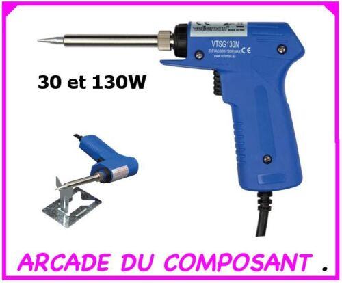 ref 66012-1 FER A SOUDER PISTOLET ELECTRIQUE 30W //130W poids 500g