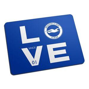Brighton & Hove Albion F.c - Personnalisé Tapis De Souris (love)-afficher Le Titre D'origine