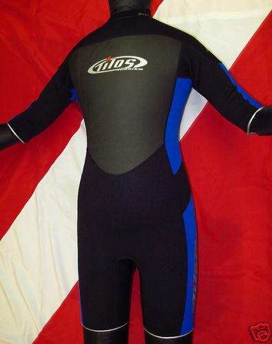 Tilos 2mm 4-Way Stretch Escape Shorty Wetsuit lady scuba diving equipment J2216S