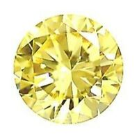 5.5mm ROUND NATURAL LEMON QUARTZ YELLOW GEM GEMSTONE