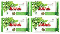 60 Jobe's Fertilizer Spikes Trees & Shrubs All Season Time Release Food 16-4-4