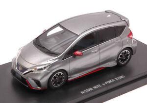 Nissan Note E-power Nismo 2017 Silvergun 1:43 Modèle 45441 Ebbro