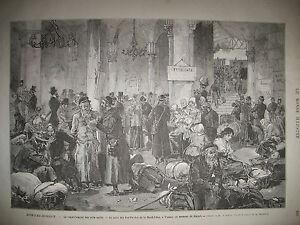 AUTRICHE-VIENNE-RAPATRIEMENT-JUIFS-EXIL-MASSACXRE-MISSION-BOLIVIE-GRAVURES-1882