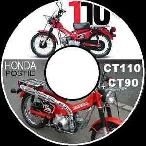 honda ct90 honda ct110 postie bike 1977 1986 repair service manualimage is loading honda ct90 honda ct110 postie bike 1977 1986