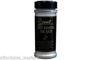 FELT-HAT-SPOT-REMOVER-CLEANER-Scout-Dry-Granules-5-oz