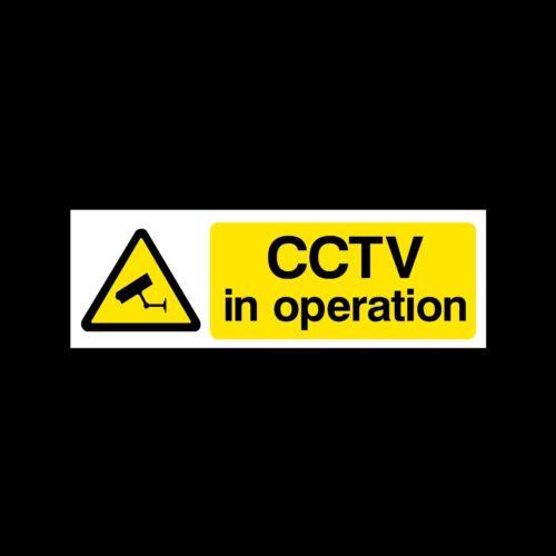 misc2 avvertenza CCTV Firmare Videocamera Adesivo-Tutte le Taglie e materiali-sicurezza