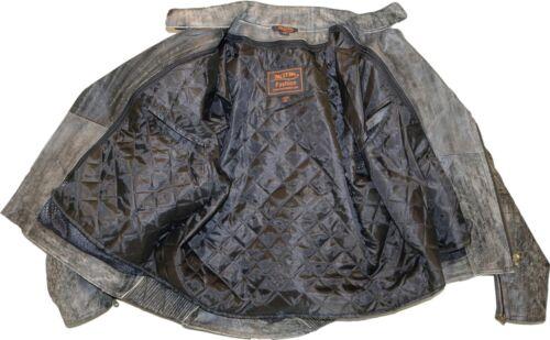 Germot Spencer textil chaqueta moto chaqueta sobre tamaño bajo grandes prosiguió tamaños Big