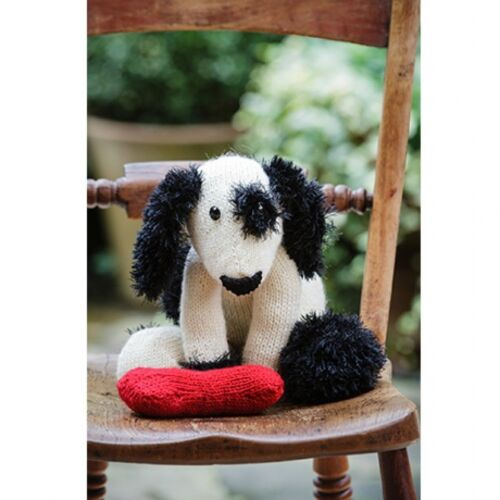 STYLECRAFT 9236 KNITTING PATTERN Large doggy and bone  DK New TOY PLAY