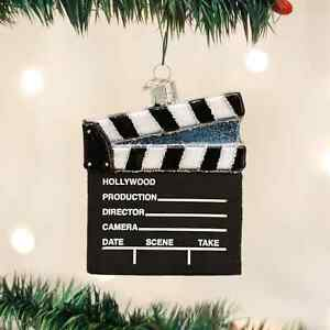 CLAP-BOARD-DIRECTOR-039-S-BOARD-ORNAMENT-Actor-Actress-Acting-Theater-PLAYHOUSE