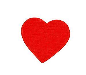 Patch toppe toppa ricamate termoadesiva cuore rosso amare | eBay