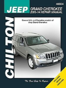 Shop Service hq Chilton Repair Manual for 1993-1998 Jeep Grand Cherokee