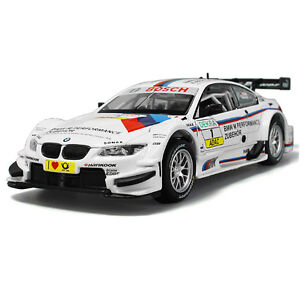 1-32-BMW-M3-DTM-Metal-Diecast-Model-Car-Toys-Collection-Sound-amp-Light-Best-Gift