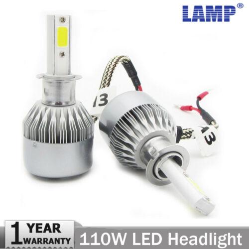 H3 H11 9005 110W 20000LM LED Headlight Conversion Kit Car Beam Bulb Driving Lamp