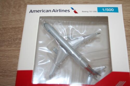 Herpa 530125-1//500 Boeing 757-200 American Airlines-NUOVO