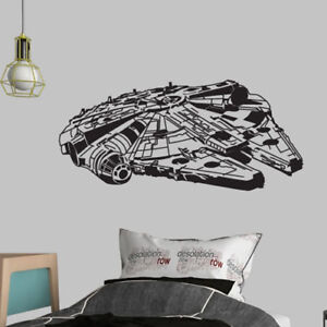 Starwars millenium falcon-stickers murals vinyl art-art decal