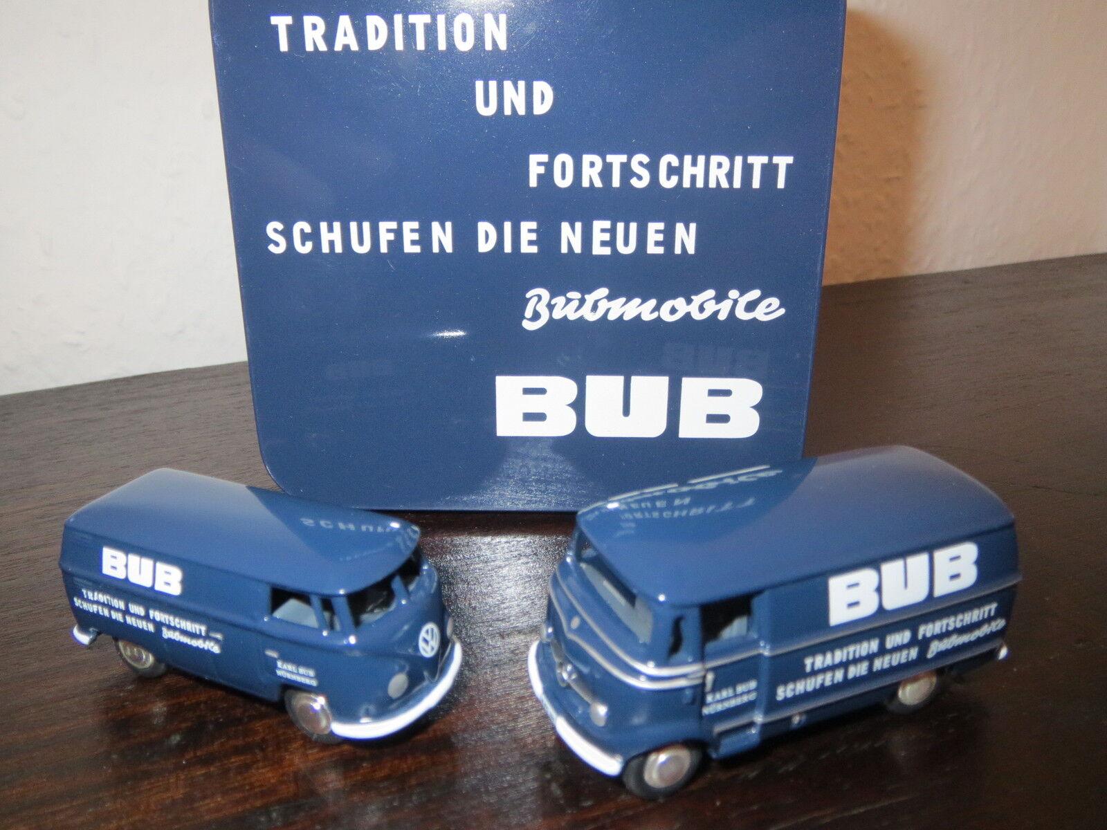 Bub tradizione e progresso speciale modelli MB l319 + VW BULLY, 1:87, come nuovo