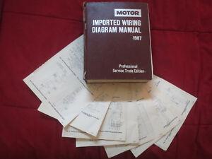 1987 NISSAN MAXIMA PULSAR SENTA STANZA 200SX 300ZX WIRING DIAGRAMS  SCHEMATICS | eBayeBay