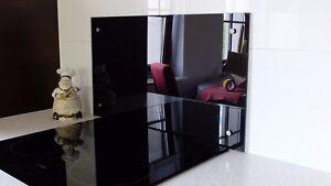 Spritzschutz Glas ESG 6mm, nach maß , Küchen Wandschutz ...