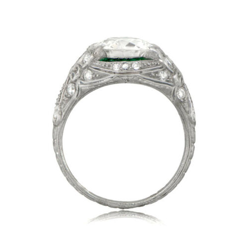 Details about  /Antique 2.00ct White Round Cut Diamond Art Deco Engagement Ring Sterling Silver