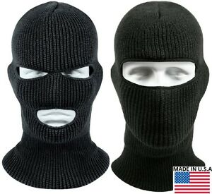 Image is loading Black-Wintuck-Face-Mask-Cold-Weather-Winter-Facemask- b52d9aace05