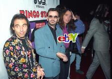 RINGO STARR, son ZAK, ALL STARR BAND- 4 original 4x6 photos-1992- Beatles -SET D
