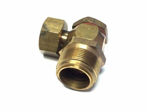 Quadrajet Conversion Brass Fuel Fitting 1 in x 20 Rochester Quadrajet