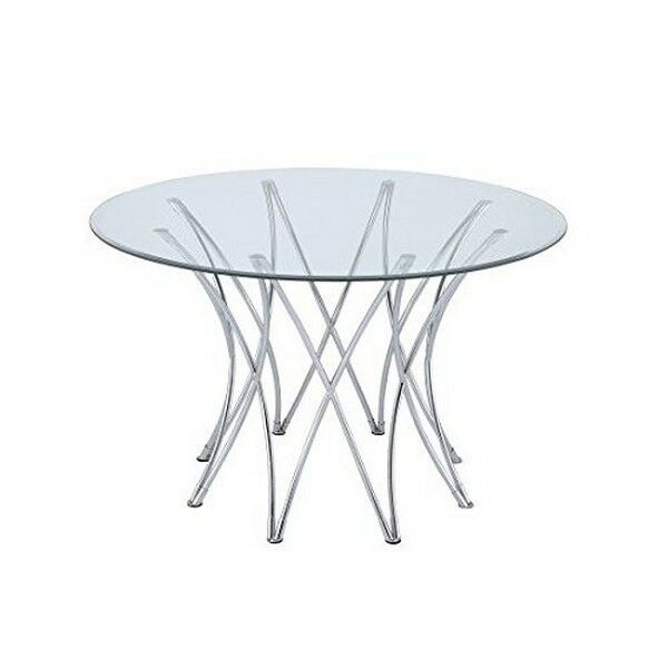 Coaster Home Furnishings 106921 Dining Table Base Chrome NEW