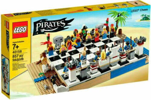 RETIRED LEGO 40158 PIRATES CHESS SET