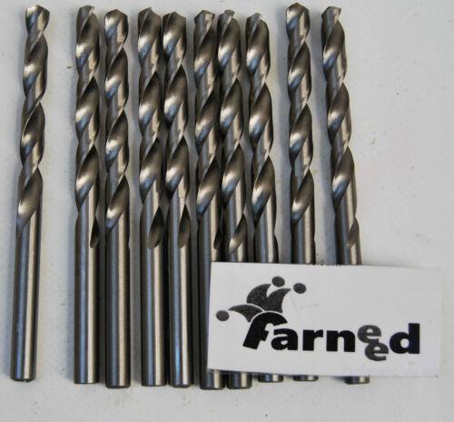 PUNTE PER TRAPANO ACCIAIO TITANIO HSS per metallo set 10 pz 2 mm farneed