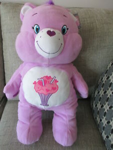"""CARE BEARS CHEER BEAR PLUSH DOLL LARGE 15/"""" STUFFED TOY COLLECTIBLE GIFT Pillow"""