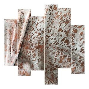 Leather-Sheets-Metallic-Leather-Acid-Wash-White-amp-Rose-Gold-Cowhide-Leather
