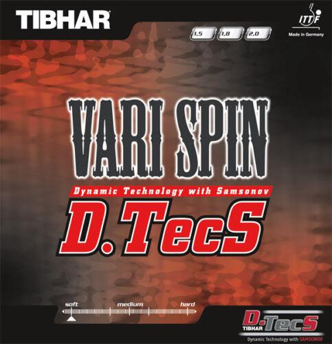 Tibhar Vari Spin D.TecS Table Tennis Rubber Sale