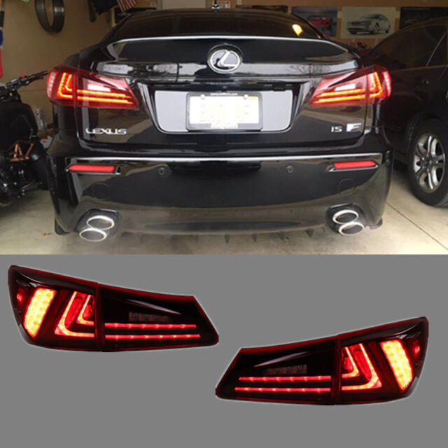 2006 Lexus Is 250 Awd For Sale: LED 2015 Model Tail Lights For Lexus Is250 Is350 ISF 2006