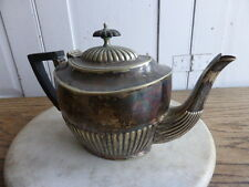 Antique silver plated teapot GB&S
