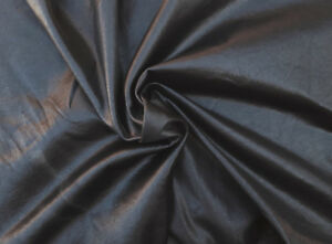 Image Is Loading Black Pleather Stretchy Faux Leather Fabric By The