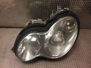 Mercedes-xenon-headlight-C-Class-W203-S203-facelift-RHD-left-passenger-side-NS