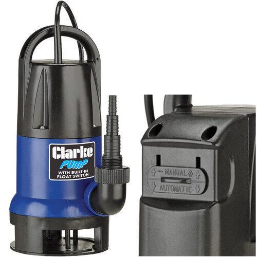 PSV5A Clarke 750W pompe avec flotteur interrupteur intégré 217 jusqu'à 217 intégré l/min débit c1c4fd