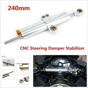Universal Steering Damper Stabilizer Reversed Safety Control For BMW Motorcycles