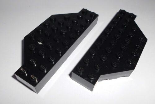 in schwarz aus 7047 5378 7237 Lego 30181 2 abgeschrägte Basicsteine 4x10x1