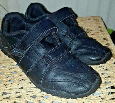 Boys Lonsdale Black Trainers (Fulham